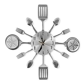 CIGERA 16 Inch Large Kitchen Modern Wall Clock