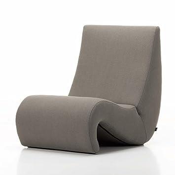 Lounge sessel braun stoff  Vitra Amoebe Lounge Sessel, trüffel braun Stoff Tonus 43: Amazon.de ...