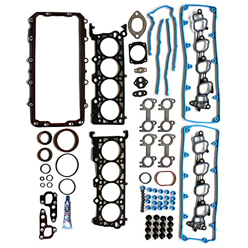 Full Head Gasket with Bolts Sets ECCPP Replacement for Automotive Replacement Engine Full Head Gasket Kits for Lincoln Mercury Ford 2002-2004 4.6L V8 SOHC VIN W, X