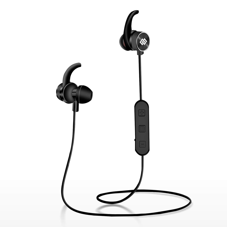TAGG Impulse Wireless Bluetooth Earphone with Mic (Black)