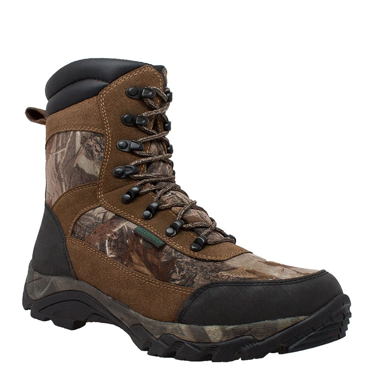 "AdTec 10"" Waterproof Real Tree 400G Men's Boot"