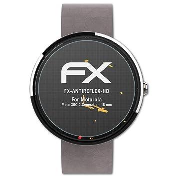 atFoliX Protector Película Compatible con Motorola Moto 360 ...