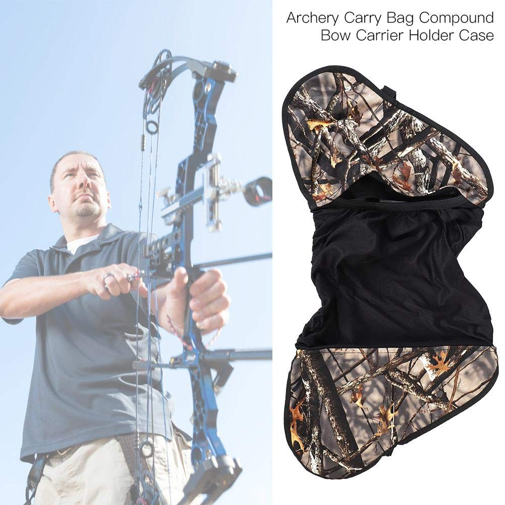 Accessories Camo Archery Compound Bow Hunting Carrier Super Light Bow Bag Case Holder