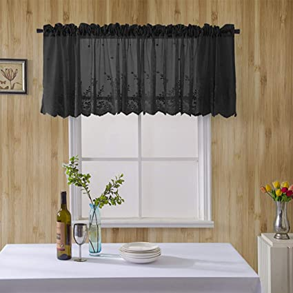 Amazon.com: Lace Curtains,Kitchen Curtains Small Curtains ...