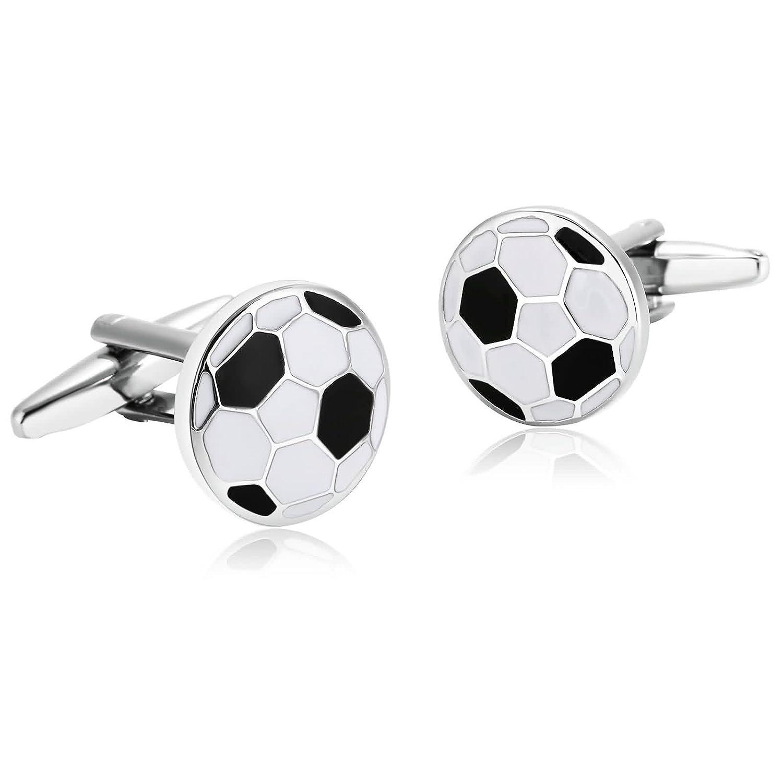 Gemelos Para Hombre Gemelos Nuevo Negro y Blanco Fútbol Soccer Ball