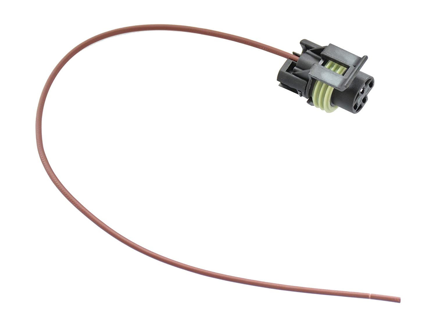 Michigan Motorsports Engine Oil Pressure Sensor Switch Connector Pigtail 1 Wire 1-Wire 1985-2016