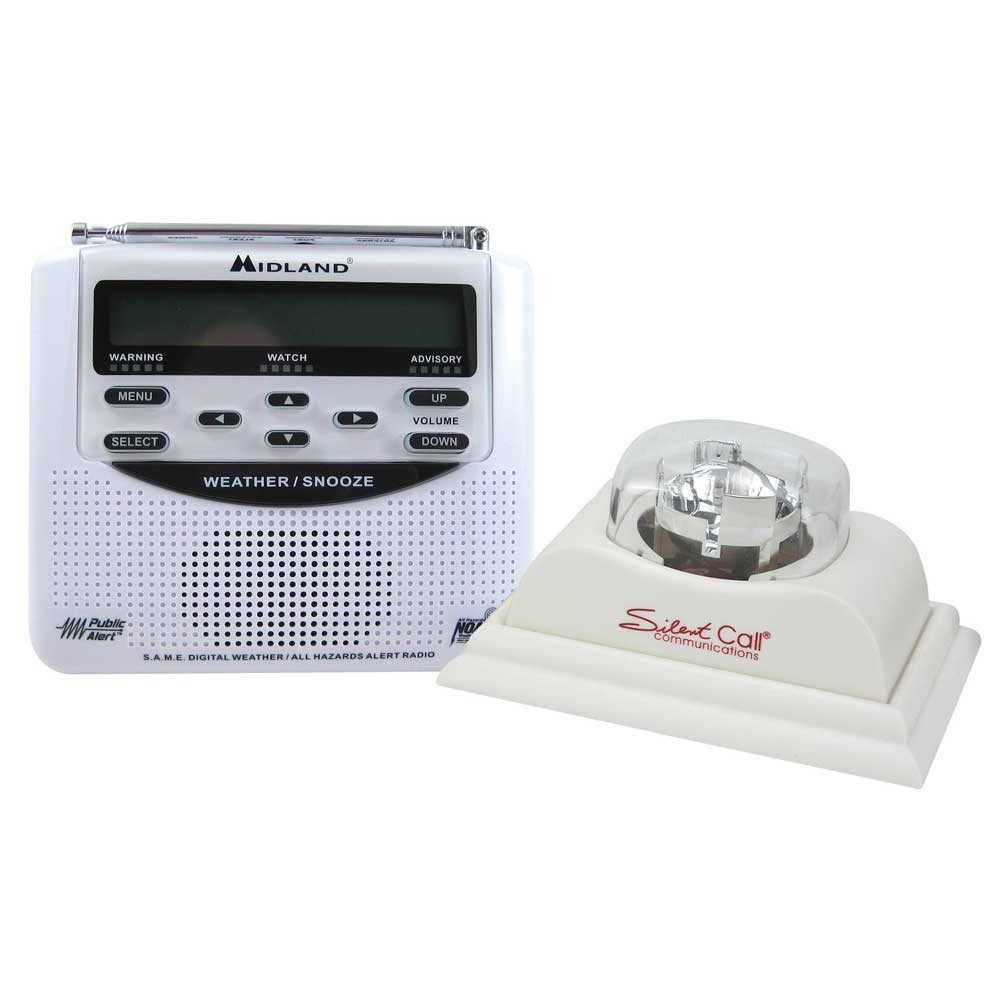 Midland Weather Alert Radio with Strobe Light by Silent Call (Image #1)