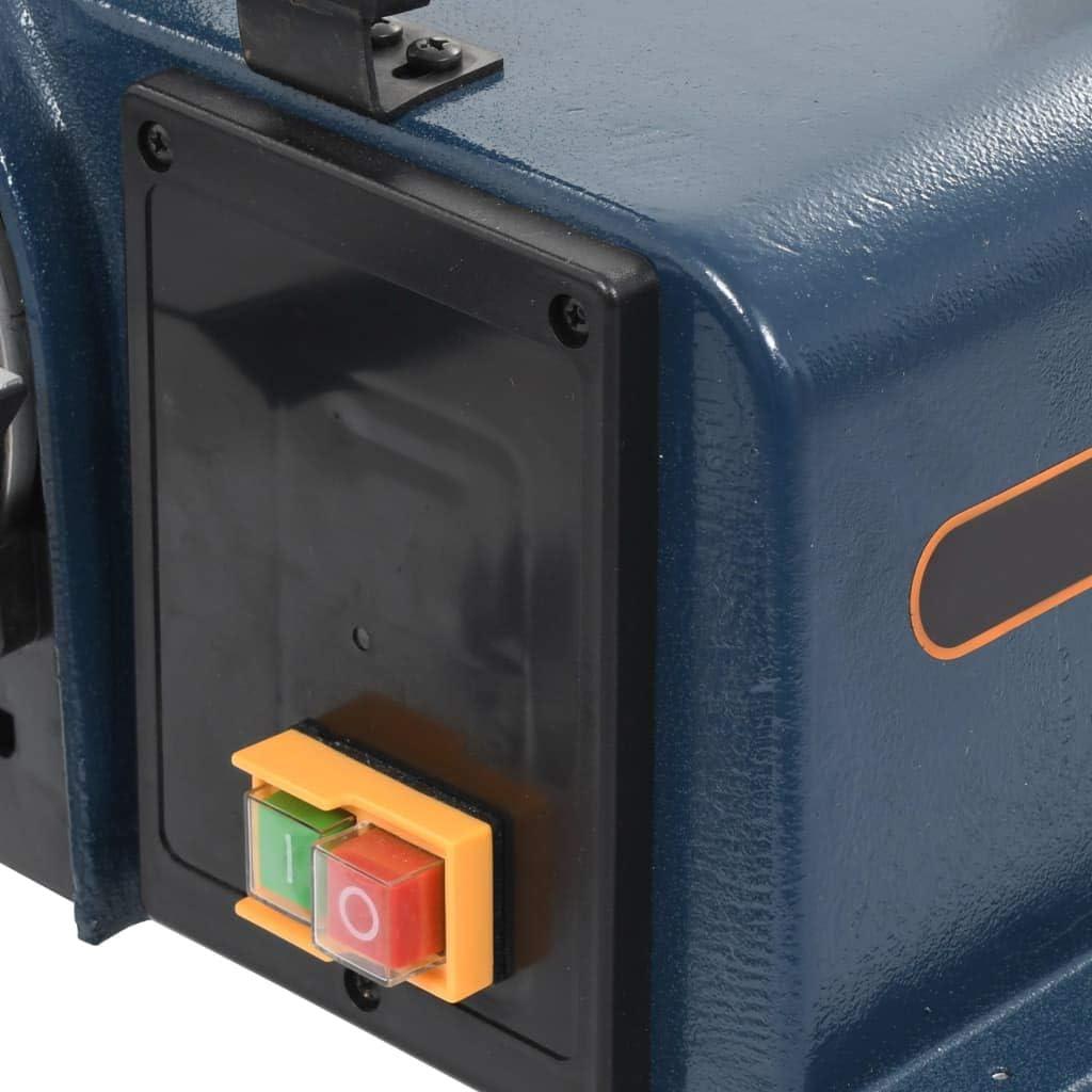 Elektroschleifmaschine 2980 U//min Bandschleifer 370 W 230-240 V Festnight Elektrischer Band- und Tellerschleifer Schleiftellers 150 mm