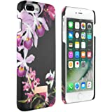 Official TED BAKER SIDRA Snap on Back Case for [ iPhone 8 Plus / 7 Plus ], Flower Print Hard Shell for Professional Women Soft Feel Back Cover for [ Apple iPhone 8 Plus / 7 Plus ] - Lost Gardens