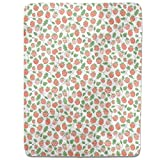 Dance Of The Berry Fitted Sheet: King Luxury Microfiber, Soft, Breathable