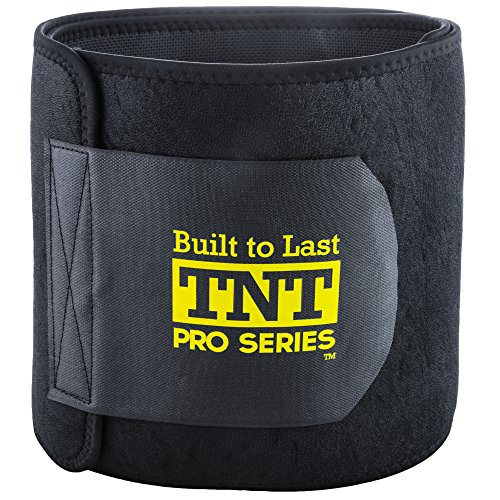 TNT Waist Trimmer Ab Belt for Men and Women - Extra Wide...
