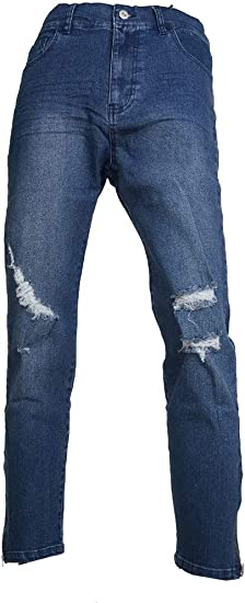 (メンズナーレ) MensNare メンズ 裾ZIPスキニーデニム ジーパン ストレッチ ジップ使い 細身 K020325-13