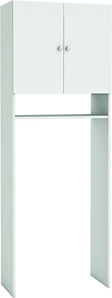 Mat: Nobilitato. 13Casa Function D8 Col: Bianco Mobile sanitari Dim: 66x31x187 h cm