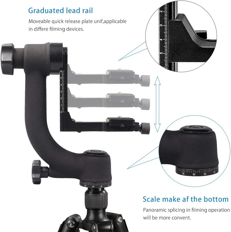 Adapter Digital Camera SLR Tripod Quick Release Plate Screw Mount Head Y2