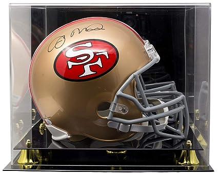 4203221769a Joe Montana Signed San Francisco 49ers Full Size Replica Helmet JSA ITP w Deluxe  Acrylic