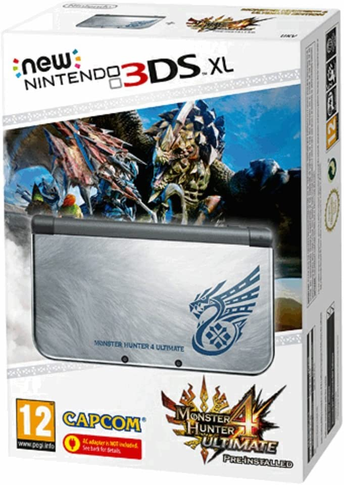 Nintendo New 3DS XL HW Monster Hunter 4Ultimate: Amazon.es: Videojuegos