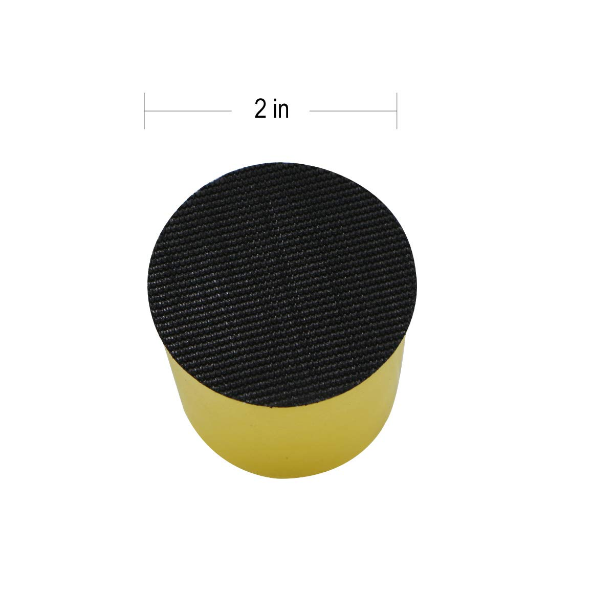 4 Inch Hand Sanding Block Foam Polishing Pad Abrasive Tools Hook and Loop Disc Attachment Tools Accessories 100mm by VIBRATITE