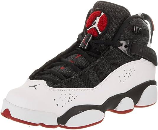 Jordan Nike Niños 6 Anillos BG Zapatos De Baloncesto