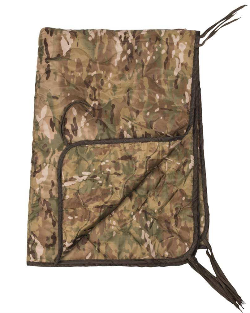 Military Poncho Liner Blanket Camping Travel Hiking Mat Tropical Camo