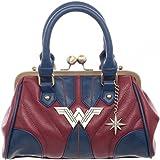 DC Comics Wonder Woman Costume Inspired Top Handle Handbag