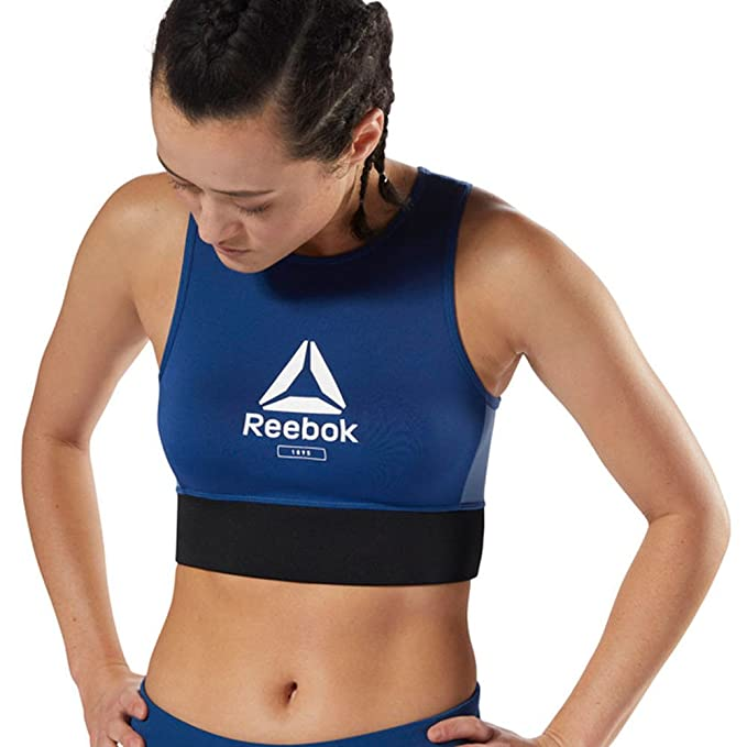 ea817b6257fe8 Reebok Layering Bralette - AW18 at Amazon Women s Clothing store
