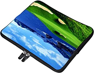 """Ocean View Golf CourseNeoprene Soft Sleeve Case for MacBook 12 Inch & MacBook Air 11.6 Inch and Laptop up to 12"""" Ultrabook, Chromebook Bag Cover"""