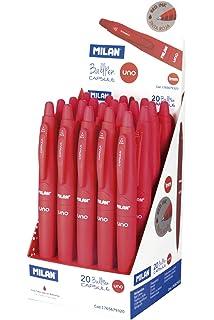 Milan 17656590220 - Pack de 20 boligrafos: Amazon.es: Hogar