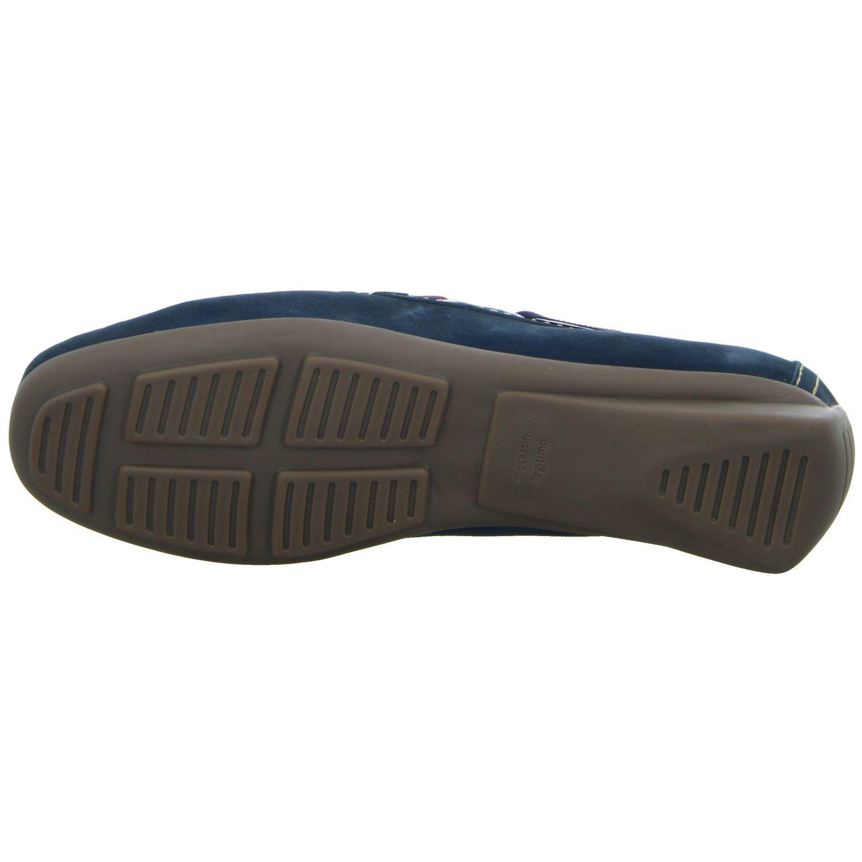 BOXX 35308 Damen Slipper Blau Halbschuh Casual Blau Slipper (Navy) ec1319