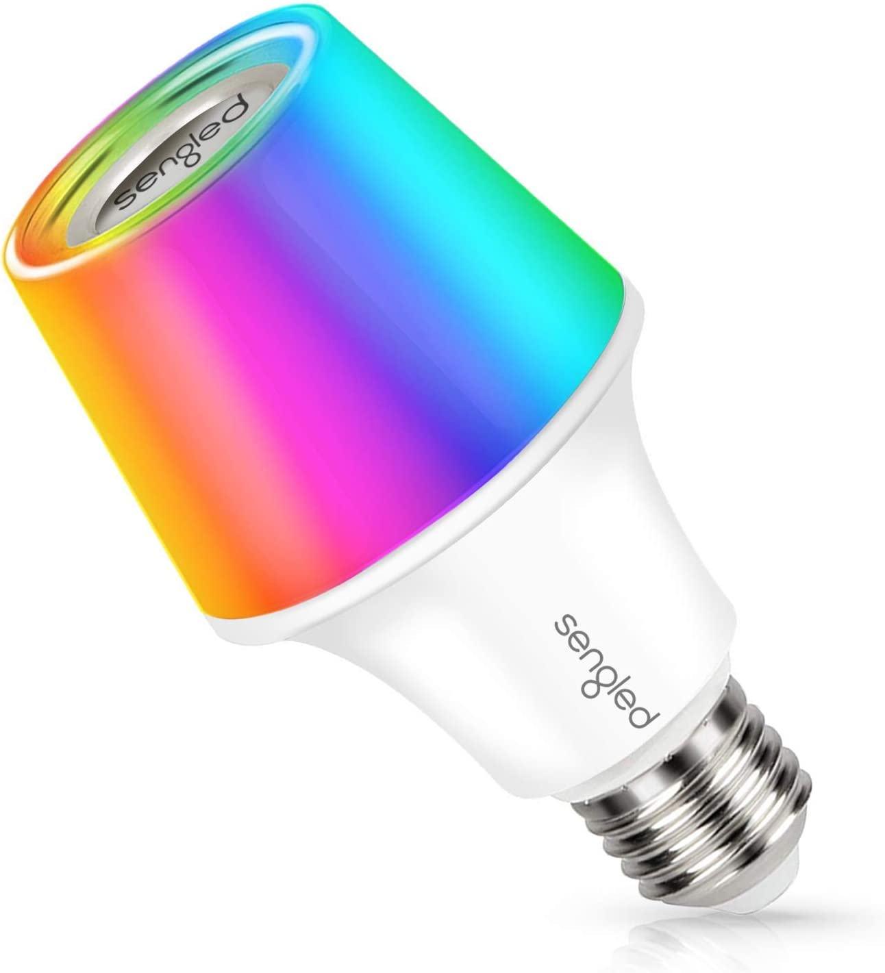 Sengled Solo RGBW Bluetooth Light Bulb Speaker Multi Color