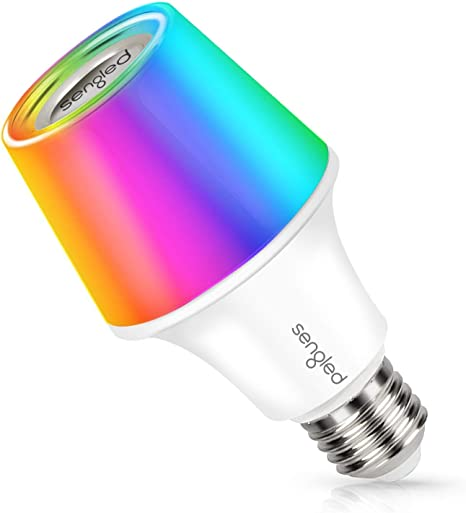 Amazon Com Sengled Solo Rgbw Bluetooth Light Bulb Speaker Multi Color Changing Led Light Bulb 60w Equivalent Dimmable App Controlled E26 Smart Music Bulb Compatible With Alexa Via Bluetooth Connection Home Audio