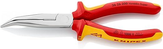 67 01 200 SB Produit sur carte LS//sous blister KNIPEX Pince coupante de devant /à forte d/émultiplication 200 mm