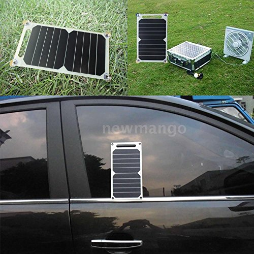 Solar-Charger-10W-Ultra-Thin-Silicon-Panel-5V-USB-Camping-Traveling-H7U6