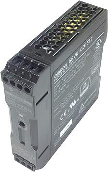 Omron S8Vkg01512 S8Vk-G01512 374165 Fuente de alimentación de la caja plástica 15W 1.25A fuera 12DC: Amazon.es: Bricolaje y herramientas