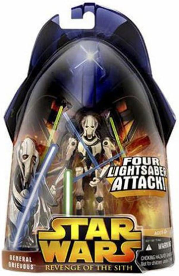 Star Wars General Grievous 4 Armed Episode 3 Figure