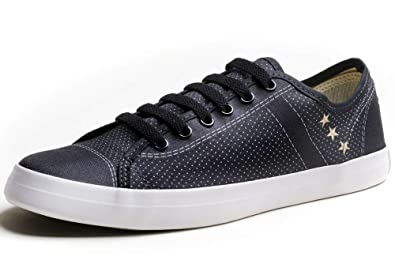 55c1562ddf6267 Amazon.com | Urban Fit Shoes Men`s Canvas Casual Fashion Low Top ...