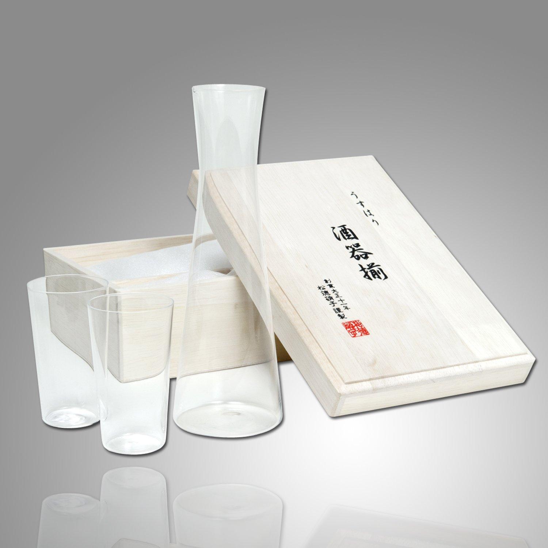 Usuhari Glass Sake Set