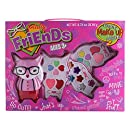 Totally Friends Kids Pretend Play Makeup Kit - Packed In a Cute Raccoon Shaped Vanity - Non-Toxic and Washable