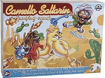 XTURNOS Juego de Mesa Camello Saltarín: Amazon.es: Juguetes ...