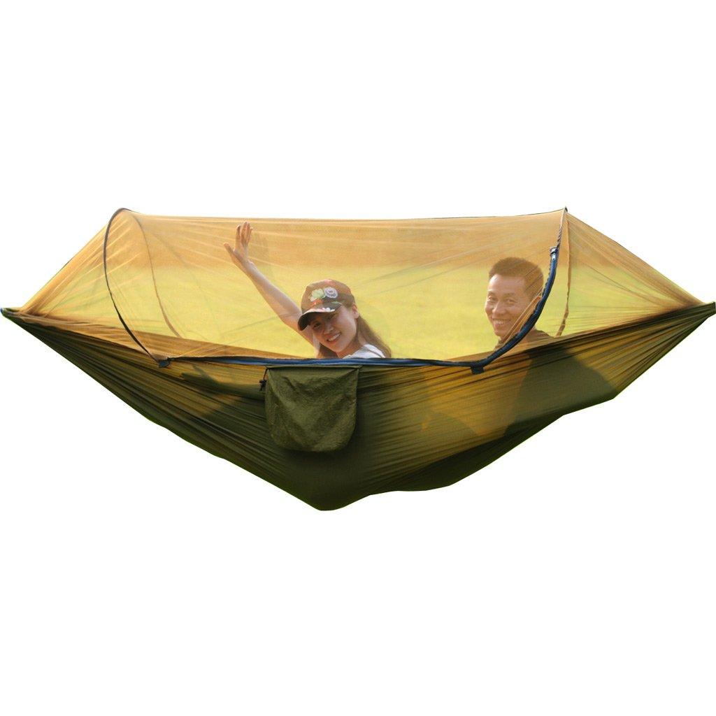 XY&CF Anti-Moskito-Schaukel im Freien mit Moskitonetz Hängematte Camping Hängematte geeignet zum Wandern, Strand