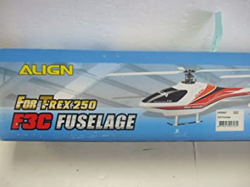 Amazon com: Align F3C Fuselage for TRex 250 Helicopter - Model