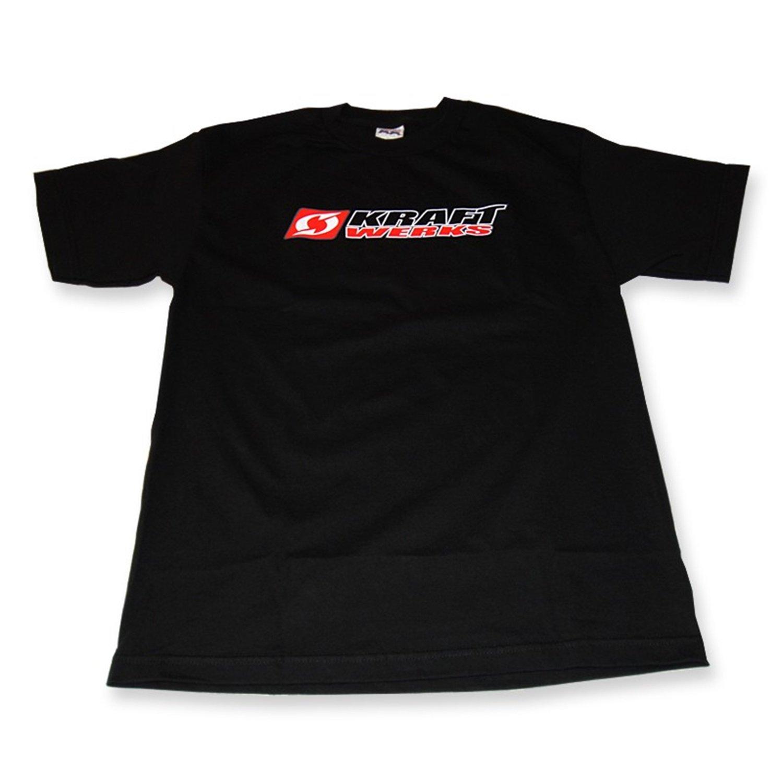 KraftWerks 735-99-9111 Black Medium T-Shirt with KRW Logo