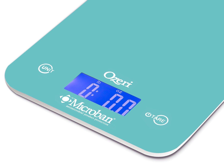 Amazon.com: Ozeri Touch II Digital Kitchen Scale with Microban ...