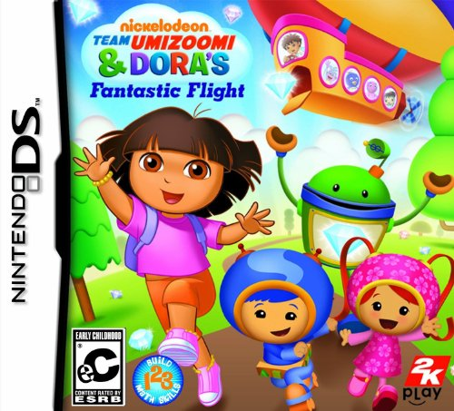 Nickelodeon Team Umizoomi & Dora's Fantastic Flight - Nintendo DS (Nintendo Ds Toddler)