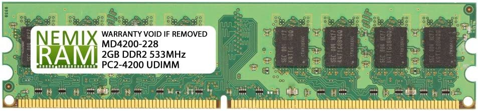 PC2-4200 RAM Memory Upgrade for The Gateway G Series GT5224 2GB DDR2-533