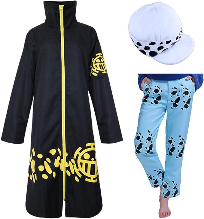 Amazon.com: Trafalgar Law - Juego completo de ropa para ...