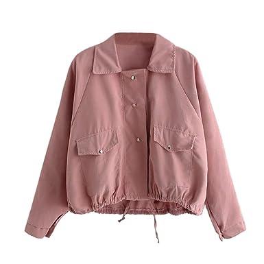 Kurze jacke damen rosa