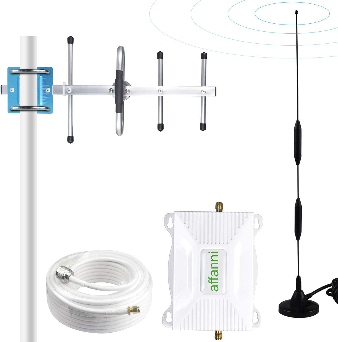 ATT Signal Booster AT&T Cell Phone Signal Booster 4G LTE Cell Phone Booster AT&T Cell Signal Booster T-Mobile Cricket Band 12/17 AT&T Cellular Signal Booster Amplifier Repeater Cell Extender for Home
