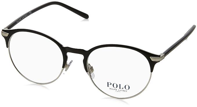 Polo Ralph Lauren - PH 1170, Round, metal, men, MATTE BLACK(9267 A ...