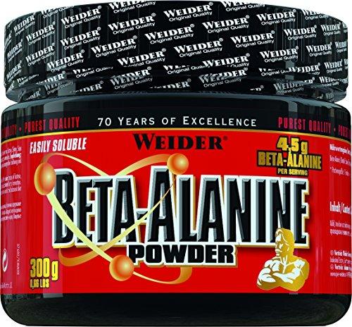 Weider Beta Alanine Powder, 1er Pack (1 x 300 g)