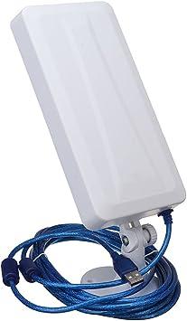 Teekit 2500M WiFi Extensor de largo alcance inalámbrico al aire libre Router Repetidor Antena Booster WLAN Antena